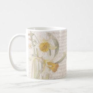 Narcissus Daffodil Wildflower Flowers Meadow Mug
