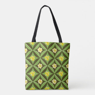 Narcissus in the Hole in the Barn Door Tote Bag
