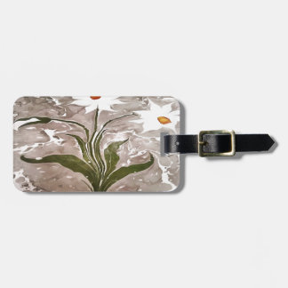 Narcissus On Marble Luggage Tag
