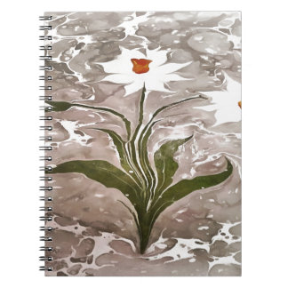 Narcissus On Marble Note Books