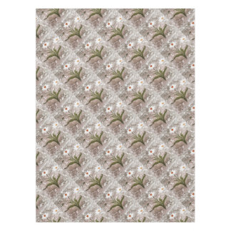 Narcissus On Marble Tablecloth