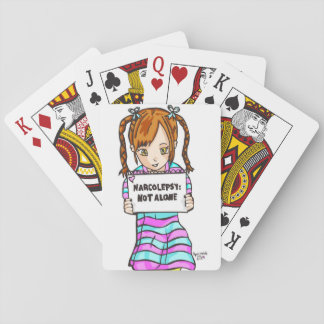 NARCOLEPSY: NOT ALONE™ Playing Cards
