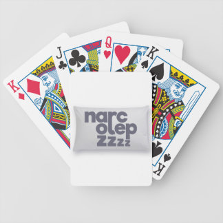 Narcolepsy zzz bicycle playing cards