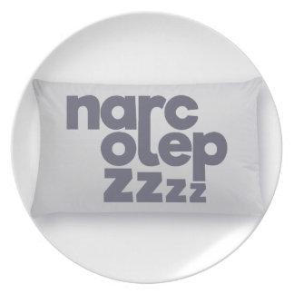 Narcolepsy zzz plate