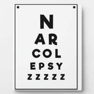Narcolepsy ZZZZ Plaque