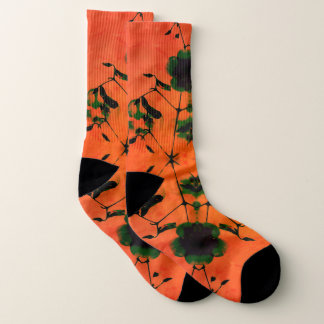 Nareena Orange Socks