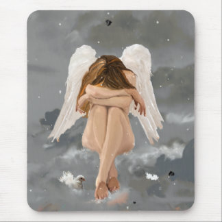 Narnia Angel! Mouse Pad