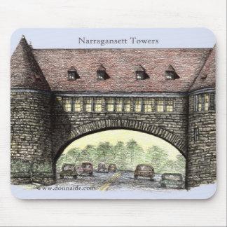 Narragansett Towers Mousepad
