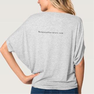 Narrators Give Good Aural blousy grey shirt +web