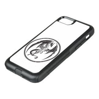 Narrow dragons OtterBox commuter iPhone 8/7 case