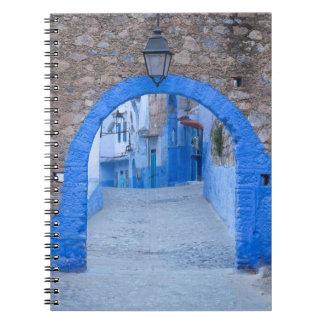 Narrow Street Of Chefchaouen Notebook