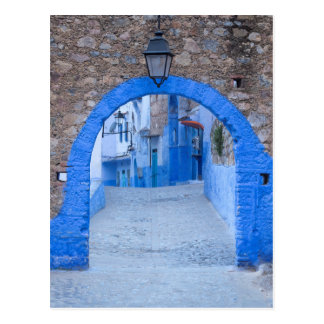 Narrow Street Of Chefchaouen Postcard