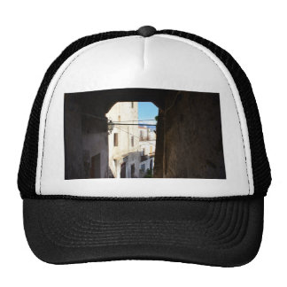 Narrow Streets Of Ancient Scalea Trucker Hat