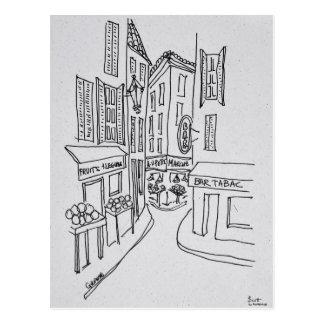 Narrow Streets of Old Nice | Nice, France Postcard