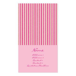 Narrow Stripes No. 0004 Business Card Templates
