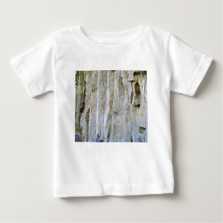 Narrow white rock column baby T-Shirt