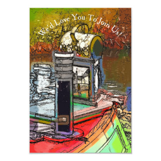 NARROWBOATS CARD