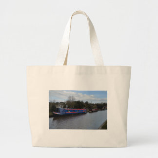 Narrowboats Large Tote Bag