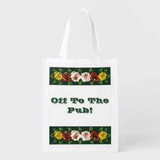 NARROWBOATS REUSABLE GROCERY BAG