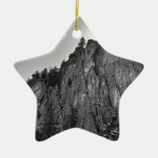 Narrows Pinnacle Boulder Canyon Ceramic Ornament