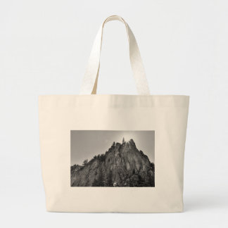 Narrows Pinnacle Boulder Canyon Large Tote Bag