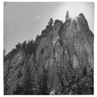 Narrows Pinnacle Boulder Canyon Napkin