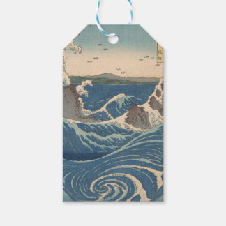 naruto whirlpool by Japanese artist Hiroshige Pack Of Gift Tags