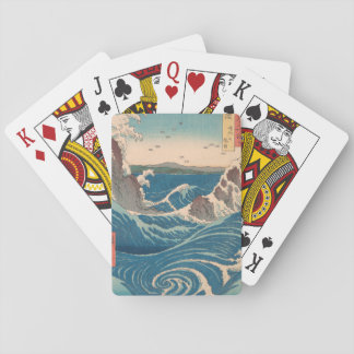 naruto whirlpool by Japanese artist Hiroshige Playing Cards