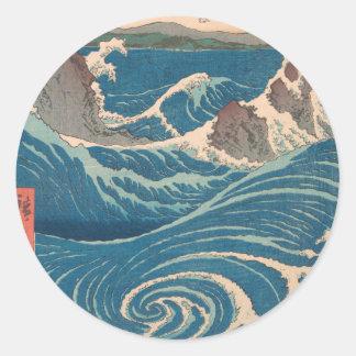 Naruto Whirlpool Classic Round Sticker