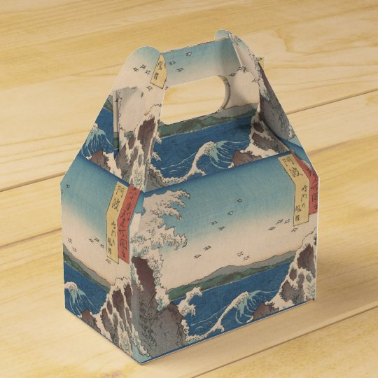 Naruto Whirlpool Japanese  Hiroshige art Favor Box