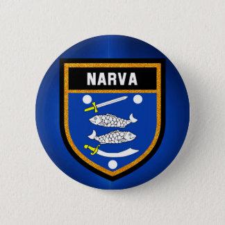 Narva Flag 2 Inch Round Button