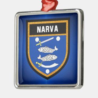 Narva Flag Metal Ornament