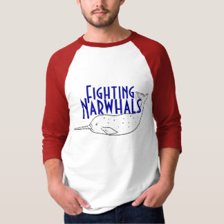 narvalo, Fighting, Narwhals T-Shirt