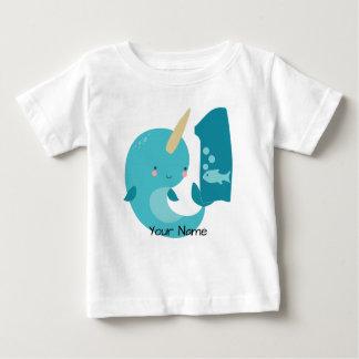 Narwhal 1st Birthday Baby T-Shirt