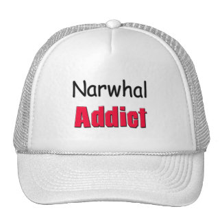 Narwhal Addict Trucker Hat