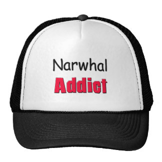 Narwhal Addict Trucker Hats