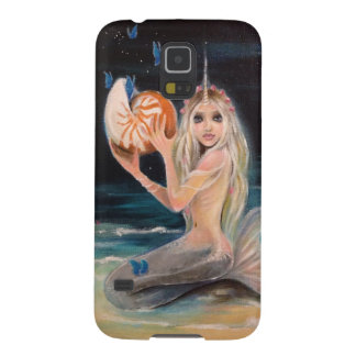 Narwhal and the nautilus original painting galaxy s5 cover