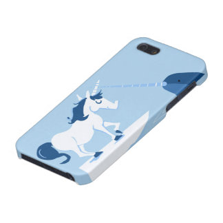 Narwhal and Unicorn iPhone 5/5S Cover