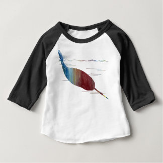 Narwhal Art Baby T-Shirt