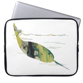 Narwhal Art Laptop Sleeve