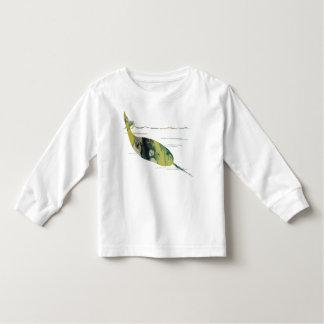 Narwhal Art Toddler T-shirt