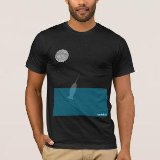 Narwhal at Night T-Shirt