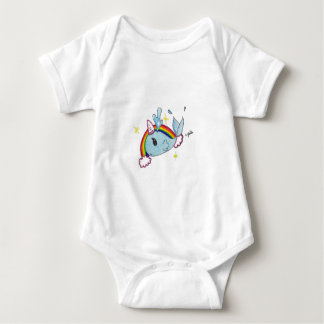 narwhal baby bodysuit