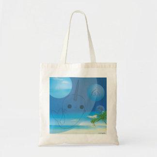 Narwhal (Beach) Tote Bag