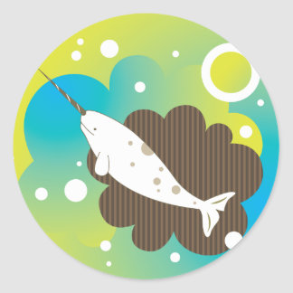 Narwhal Dream Sticker