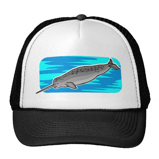 narwhal trucker hats