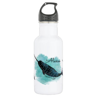 Narwhal Heart 532 Ml Water Bottle