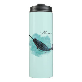 Narwhal Heart Thermal Tumbler