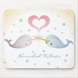 Narwhal Kisses Mousepad