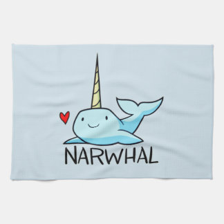 Narwhal Kitchen Towel